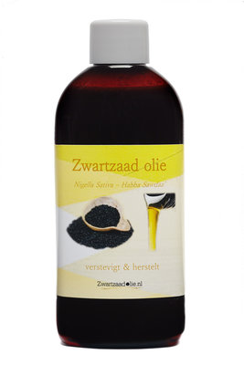 4 x 100 ml Zwartzaadolie - habba sawda