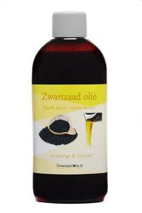 4 x 100 ml zwart zaad olie - Nigella sativa olie - zwarte komijn olie - çörek otu yağı olie - black