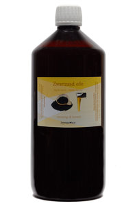 1 liter zwart zaad olie - Nigella sativa olie - zwarte komijn olie - çörek otu yağı olie - black